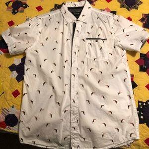 Men's Casual Button Up Shirt.
